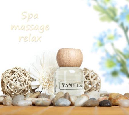 Spa massage concept background. Stock Photo - 11305201