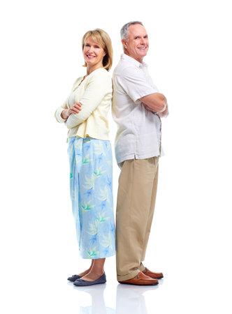 Senior couple in love. photo