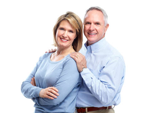 Senior couple in love. Imagens