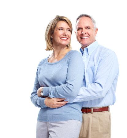 Matrimonios de edad en el amor. Foto de archivo - 11454639