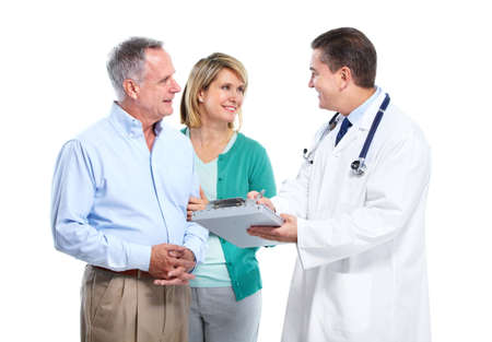 Doctor and senior couple. Stock Photo - 11454792