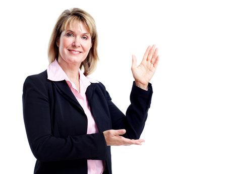 Mujer de negocios ejecutivo.