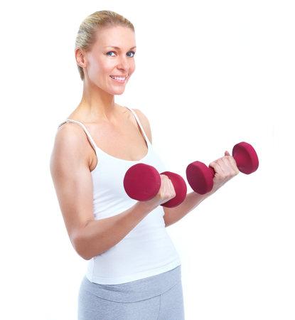 Fitness woman. photo