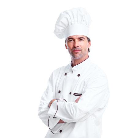 panadero: El hombre del Chef. Foto de archivo