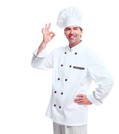 Young professional chef man. Stock Photo - 11478350