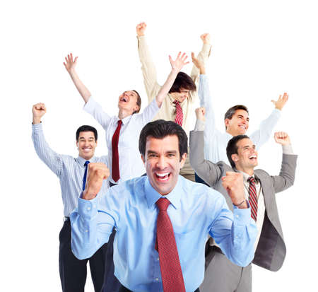 Happy Business people team. Stock Photo - 11478369