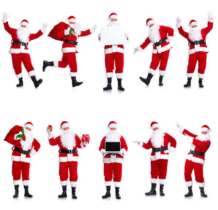 Santa Claus set. photo