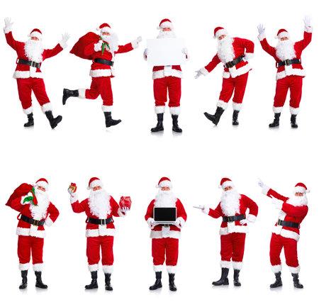 st  nick: Santa Claus set.