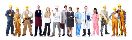 Group of industrial workers. Stock Photo - 11478647