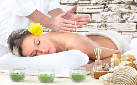 Spa massage. photo