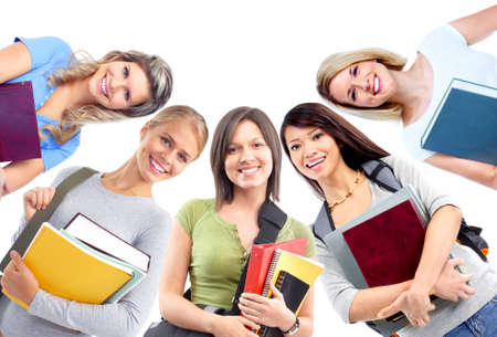 education: Students girls.