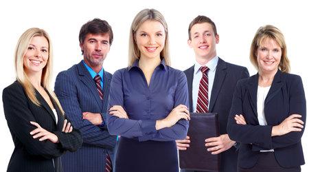 grote groep mensen: Mensen uit het bedrijfsleven groep. Stockfoto