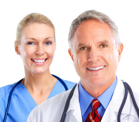 medical help: Medical doctors group. Stock Photo