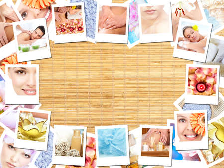 Spa massage background. Stock Photo - 11622522