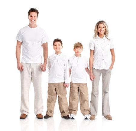 family photo: Happy family