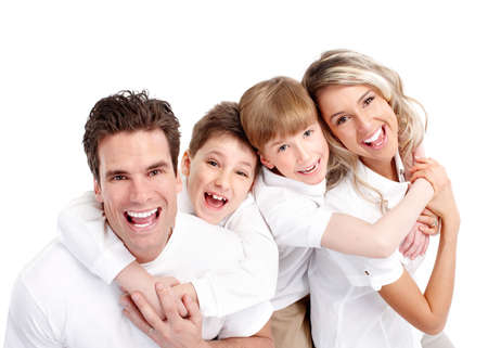 Happy family. Stock Photo - 11920259