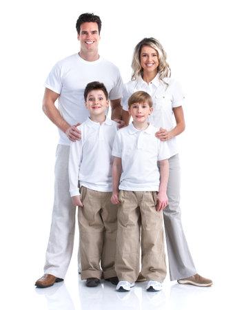 foto: Gelukkig gezin Stockfoto