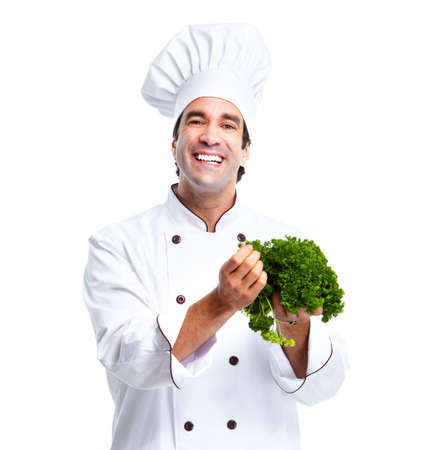 potherb: Chef man.
