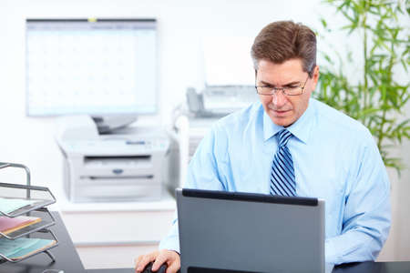 Accountant businessman. photo