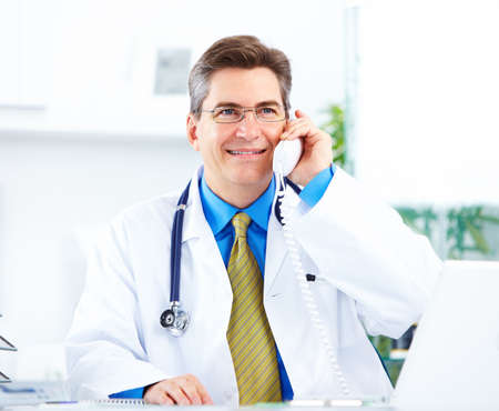 Medical doctor at the hospital.