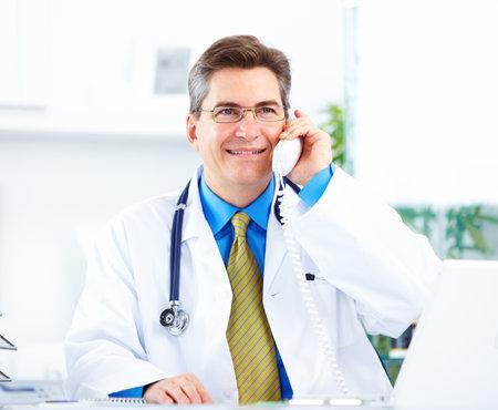 Medico presso l'ospedale. Archivio Fotografico - 11854794