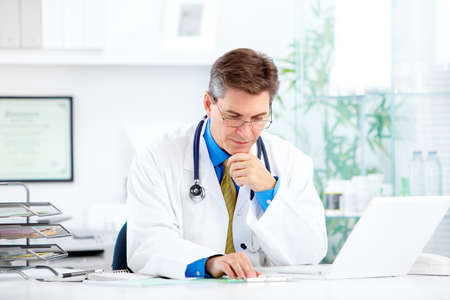 Medical doctor at the hospital. Stock Photo - 11861467