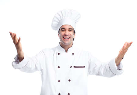 Professional chef man. Stock Photo - 11861284