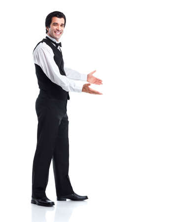 Waiter man. photo