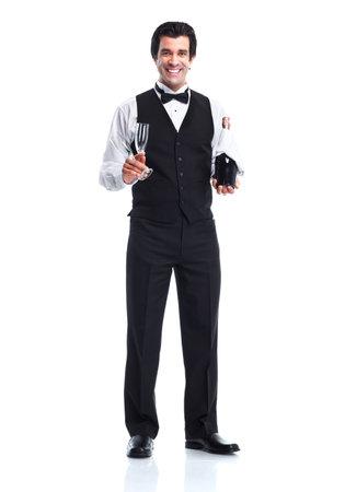 hotel staff: Waiter man.