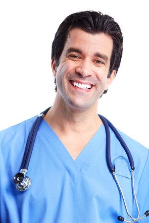 Smiling medical doctor. photo
