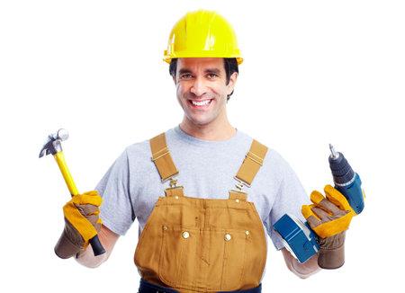 menuisier: Travailleur industriel. Banque d'images