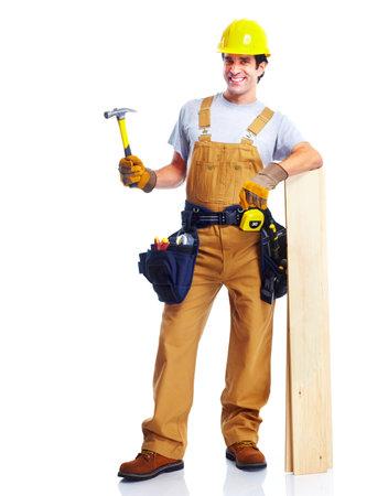 carpintero: Trabajador industrial. Foto de archivo