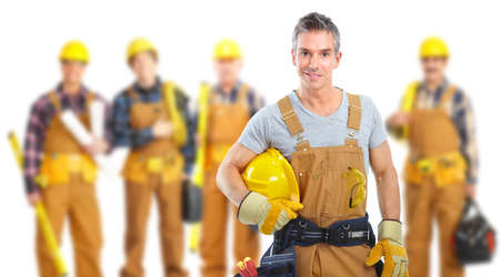 Industrial workers group. Stock Photo - 11976591