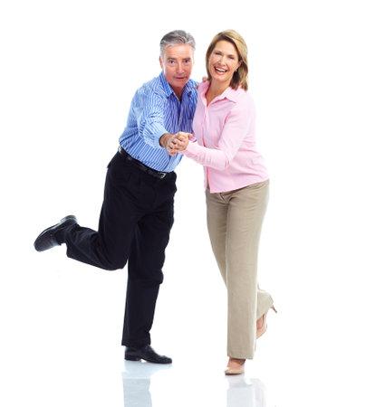 tanzen paar: Gerne �lteres Ehepaar. Lizenzfreie Bilder