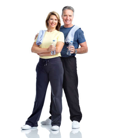 Senior fitness. Stock Photo - 12137556