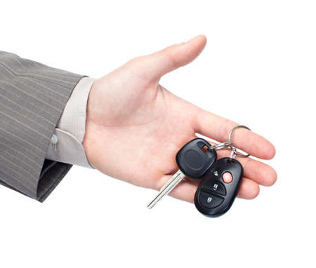 loans: Car key. Stock Photo