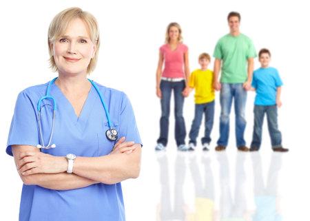 salud sexual: Médico de familia y pacientes.