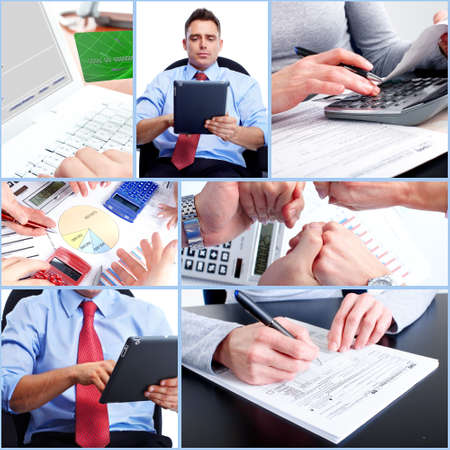 Business collage. Stock Photo - 12137593