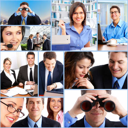 Business collage. Stock Photo - 12137657