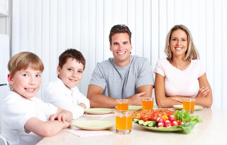 Familie diner. Stockfoto - 12378693