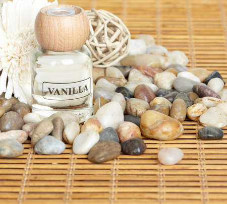 Spa massage concept background. Stock Photo - 12378851