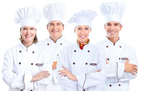 Chef baker group. Stok Fotoğraf