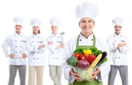 culinary chef: Chef baker man.
