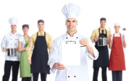 Chef baker. Reklamní fotografie