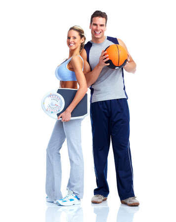 Fitness couple. Stock Photo - 12379017