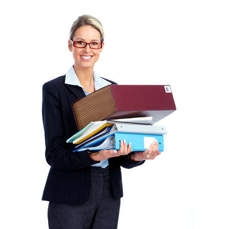 Accountant business woman. Stock Photo - 12379168
