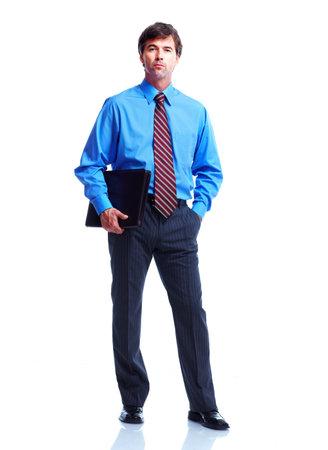 oficinista: Hombre de negocios Ejecutivo. Foto de archivo