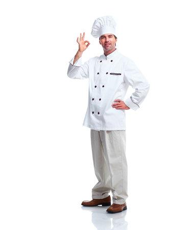 Professional chef man  Imagens