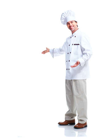 Professional chef man  photo
