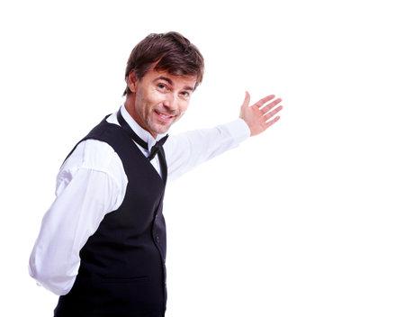 číšník: Číšník muž